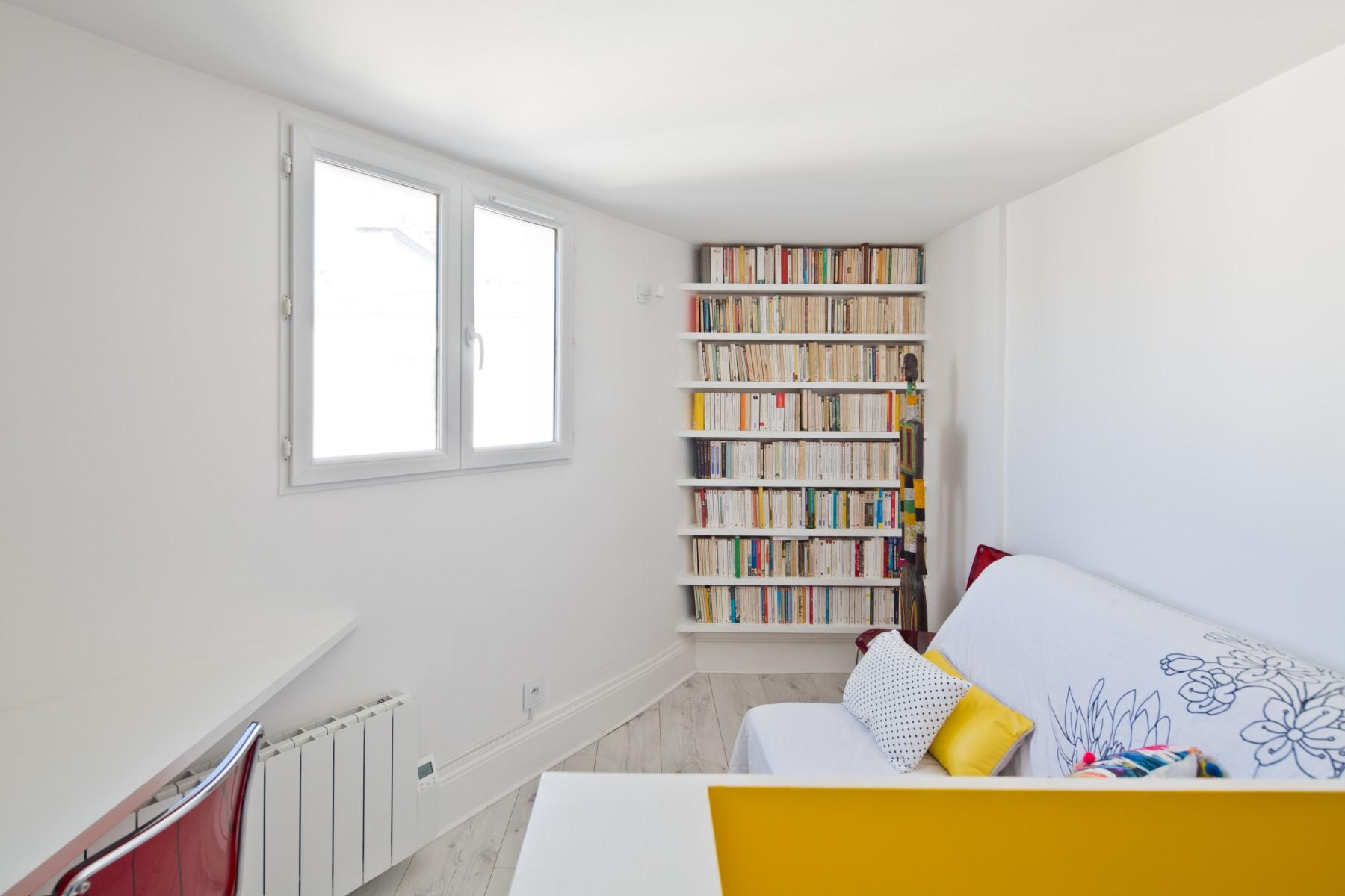 Gain D Espace En Reliant Notre Appartement Avec Le Studio Du