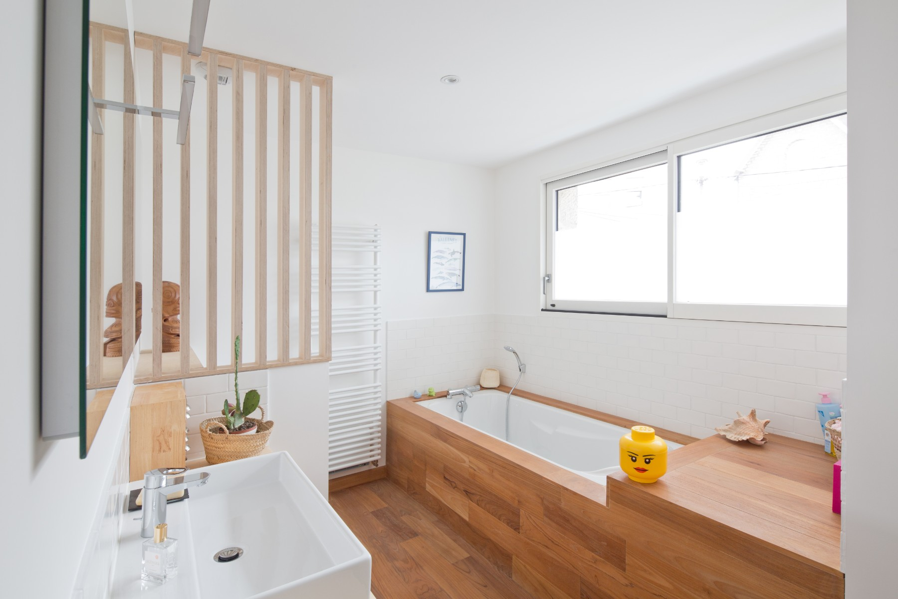 Rénovation d'une maison à Quimper par Archibien et son architecte - la salle de bains