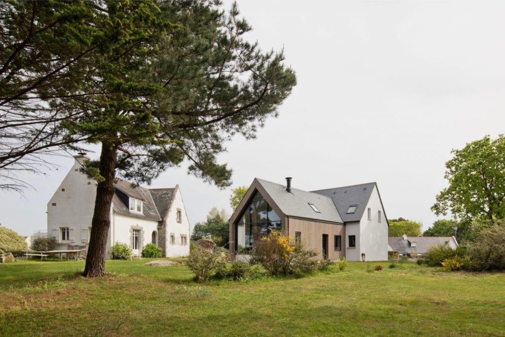 Construction neuve d'une maison en Bretagne Sud projet Archibien