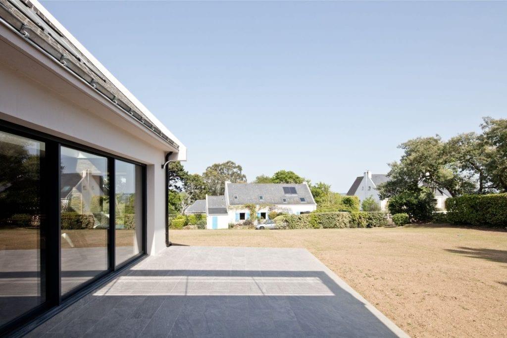 Rénovation et extension d'une maison secondaire projet Archibien