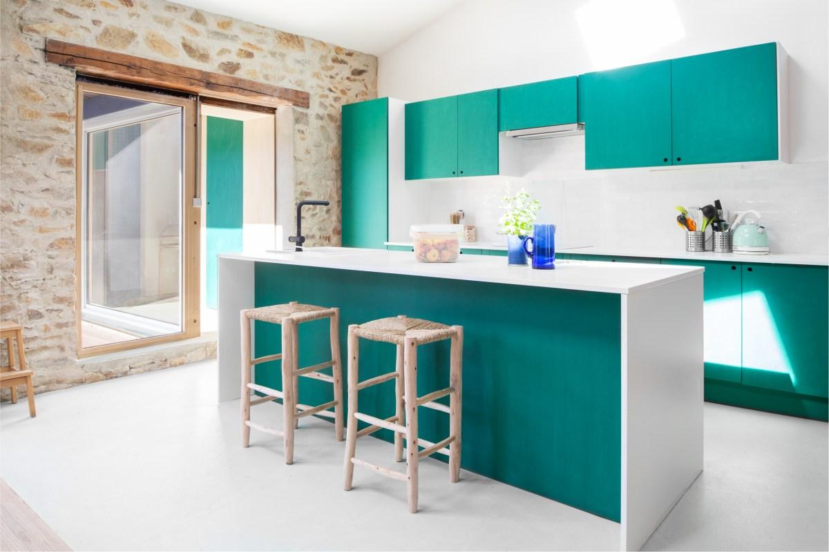 Intérieur maison cuisine