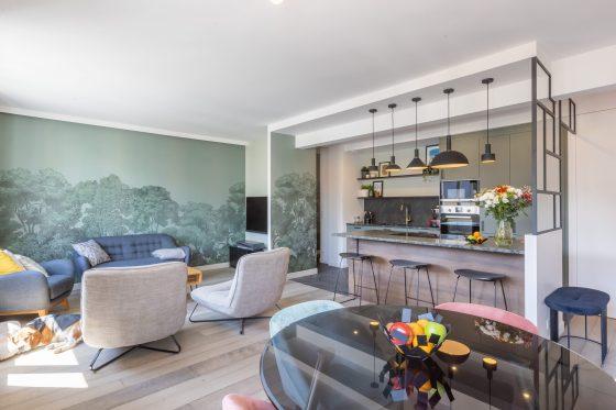 Intérieur appartement cuisine