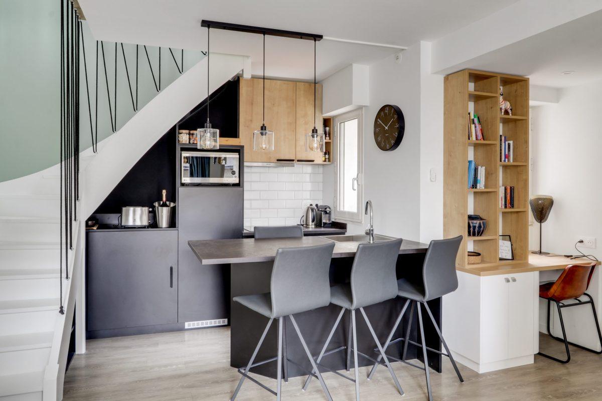 Photo de la cuisine de l'appartement