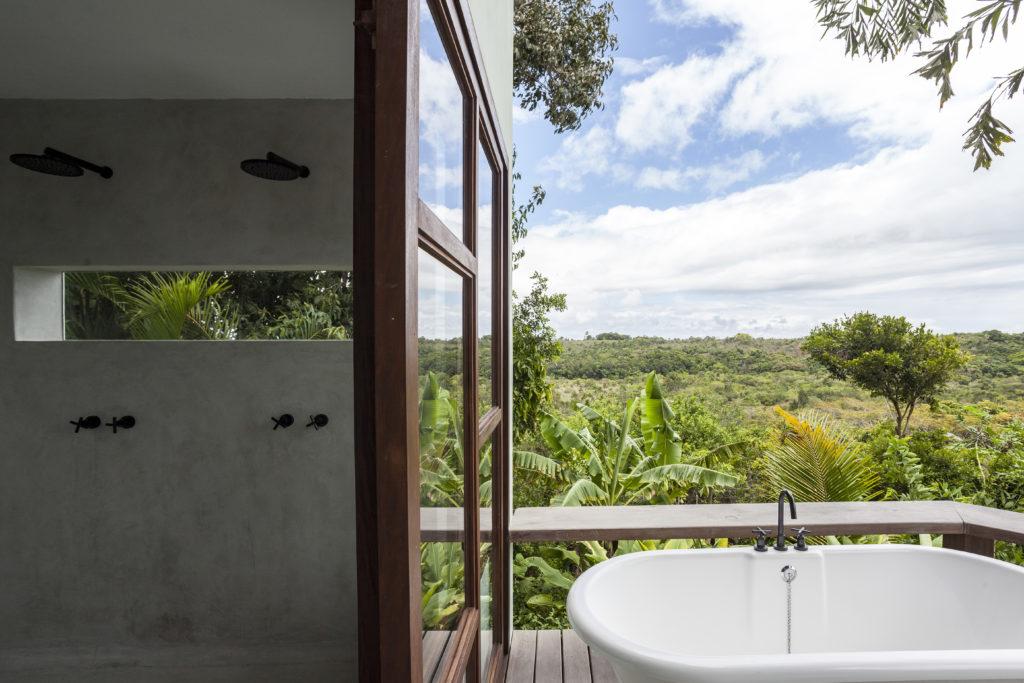 Matériau architectural Casa Cajueira par Wilbert Das, Trancoso, Brésil