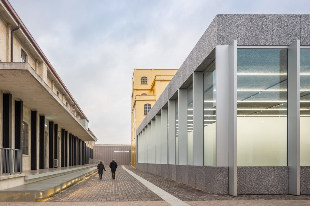 Behind The Building The Fondazione Prada By Oma
