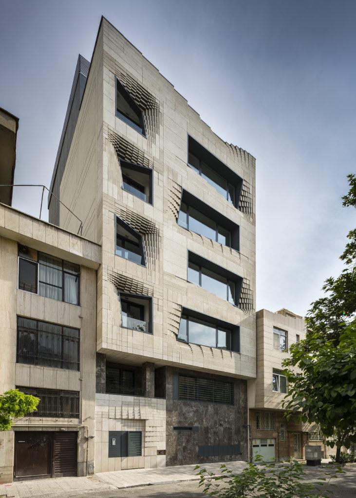 matériau architectural SOFTSTONE par SETUParchitecture, Téhéran, Iran