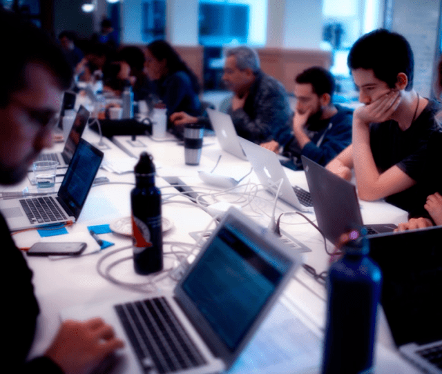 Datarescue Event In San Francisco In February 2017 Photo By Jamie Lyons