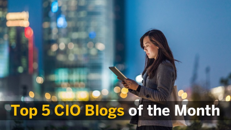 Top Cinq Blogs CIO d'Avril 2018