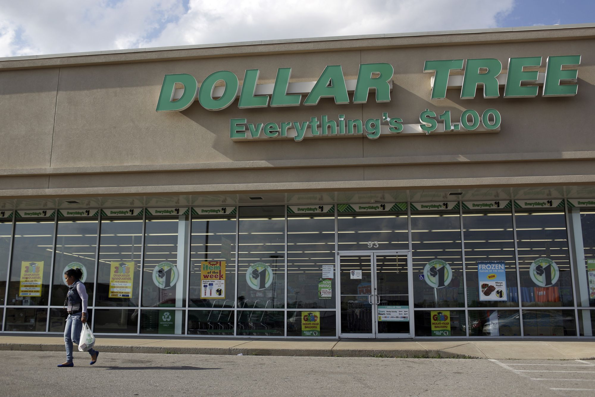 Dollar Tree Is One of the Few Winners on the Entrepreneur Index™ Today