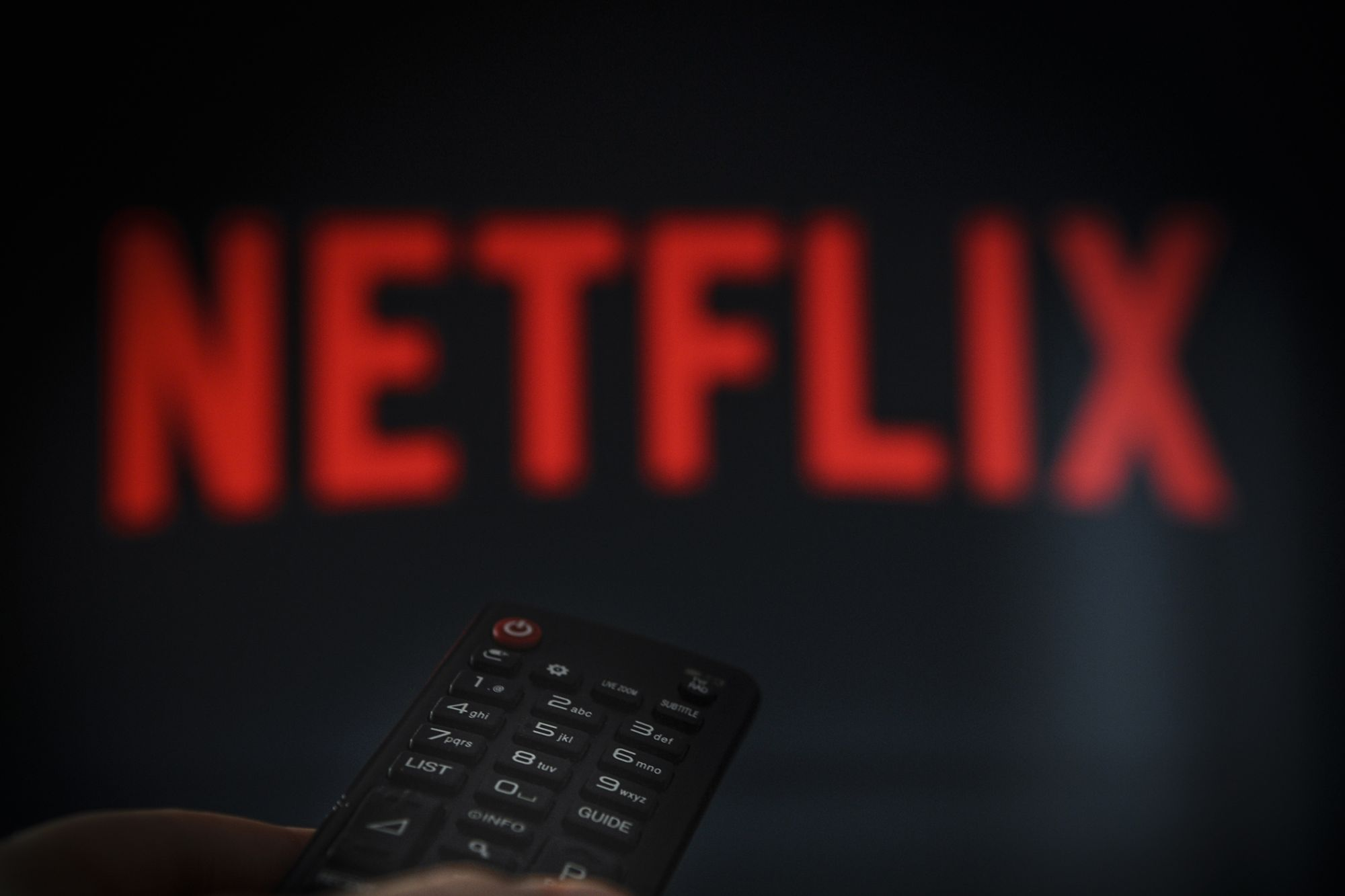 Netflix Stock Down 30 Percent Since October