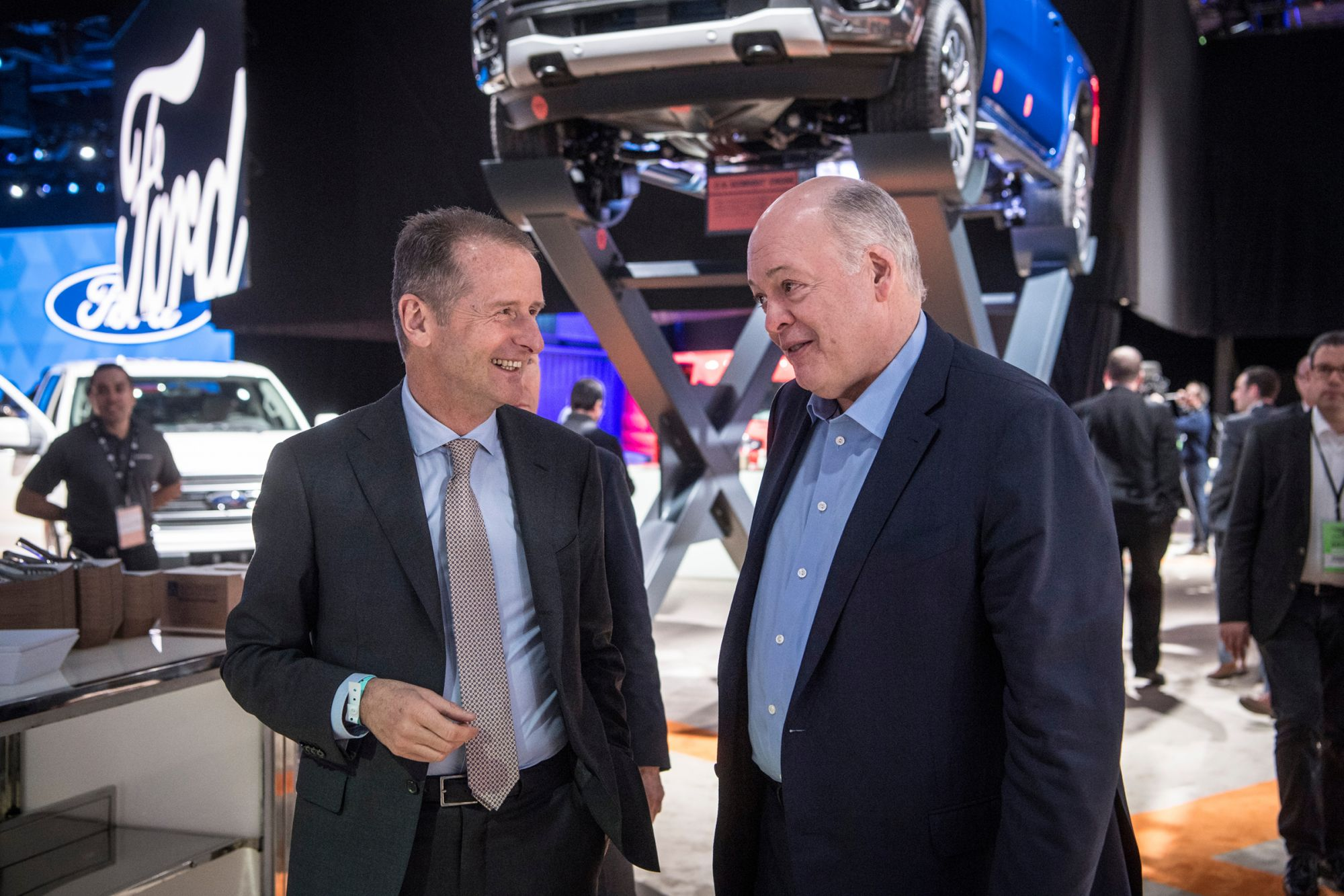 Ford Formally Announces a Partnership With Volkswagen, But Its Stock Price Still Falls