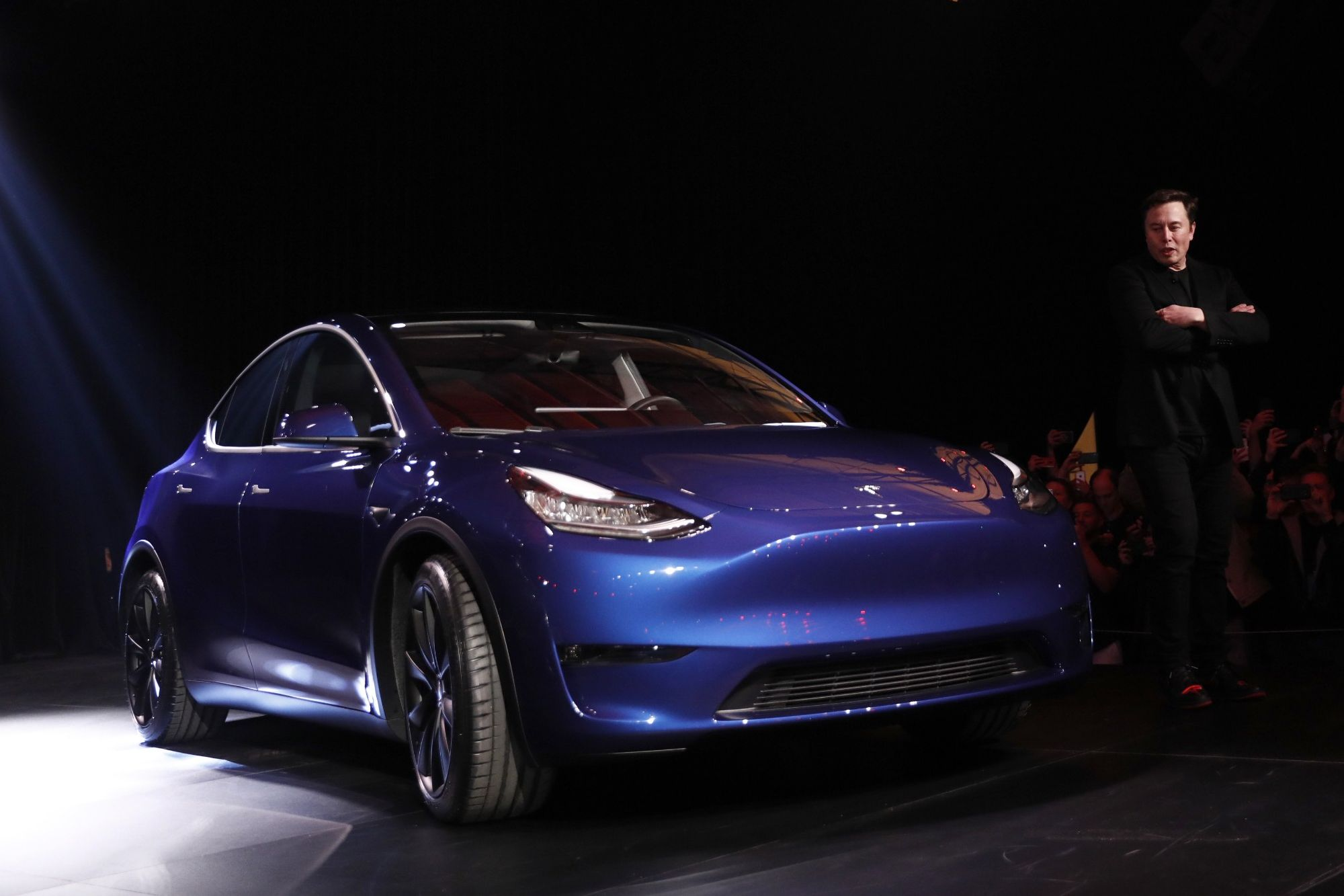 The New Tesla Model Y Gets Chilly Reception and Drives Company Shares Down