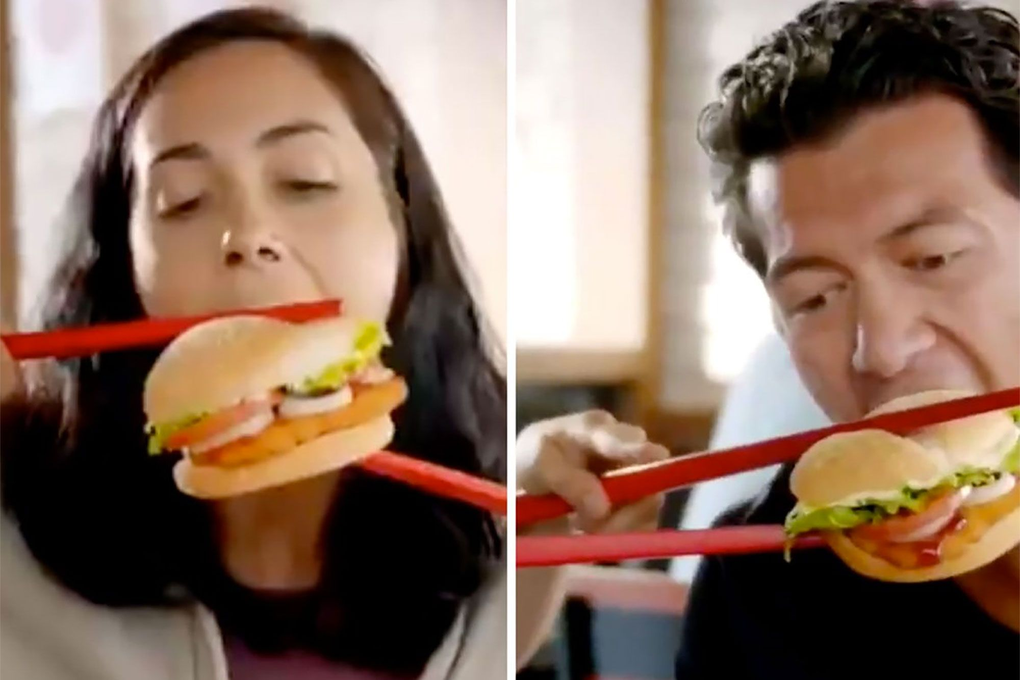 Burger King Pulled an Ad Showing People Eating Its Vietnamese Burger With Oversized Chopsticks After It Was Called Racist