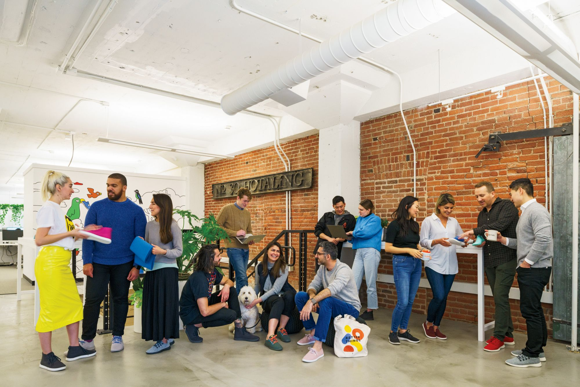 Allbirds' San Francisco HQ Celebrates the Past But Looks to the Future