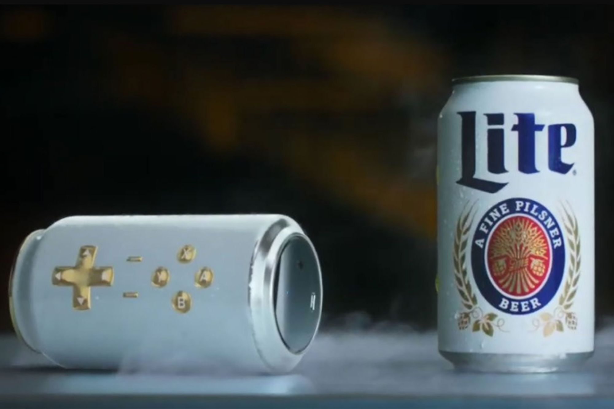 Meet the Miller Lite Cantroller, a Gamepad That's Also a Can of Beer