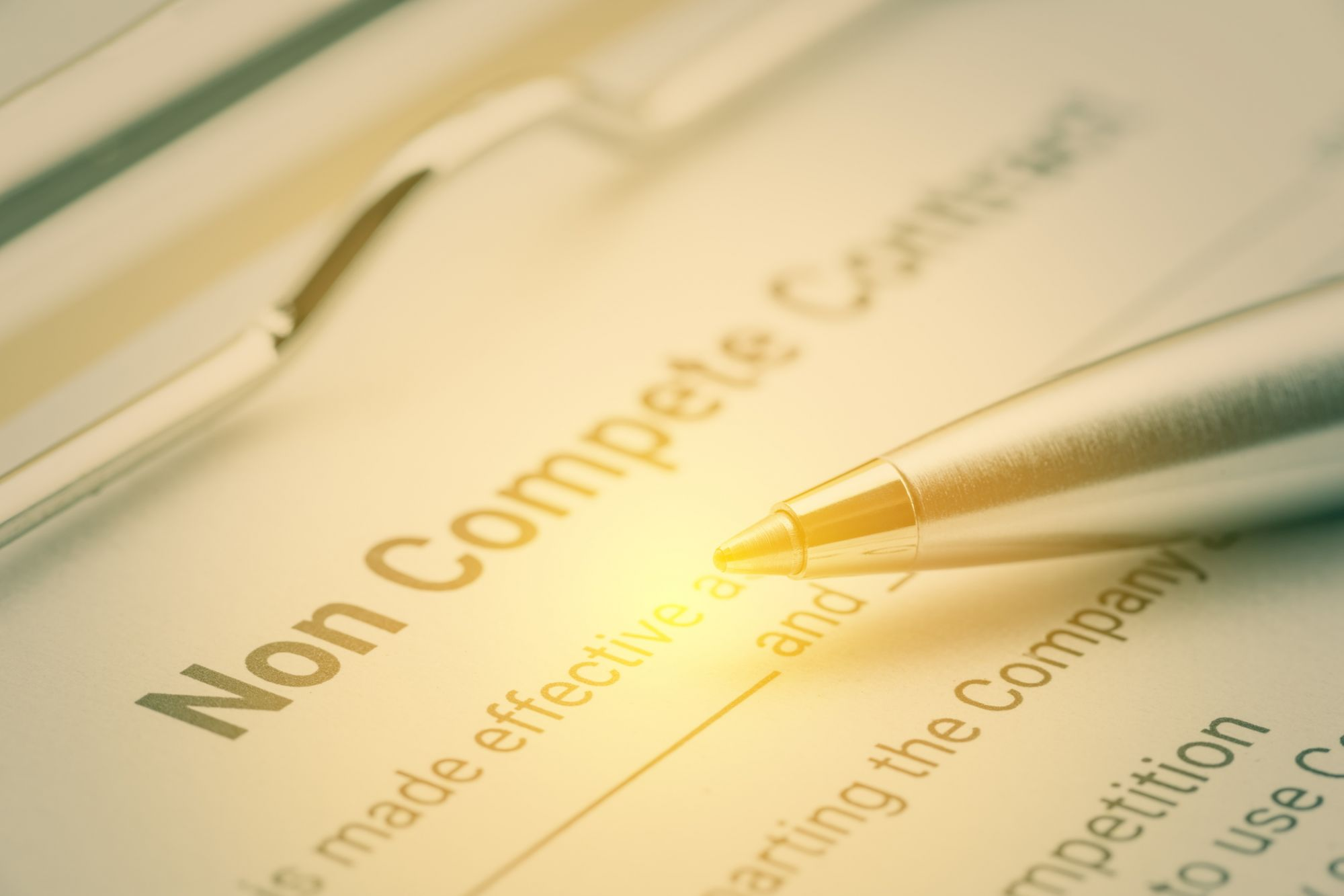 How Enforcable Is Your Non-Compete Clause?