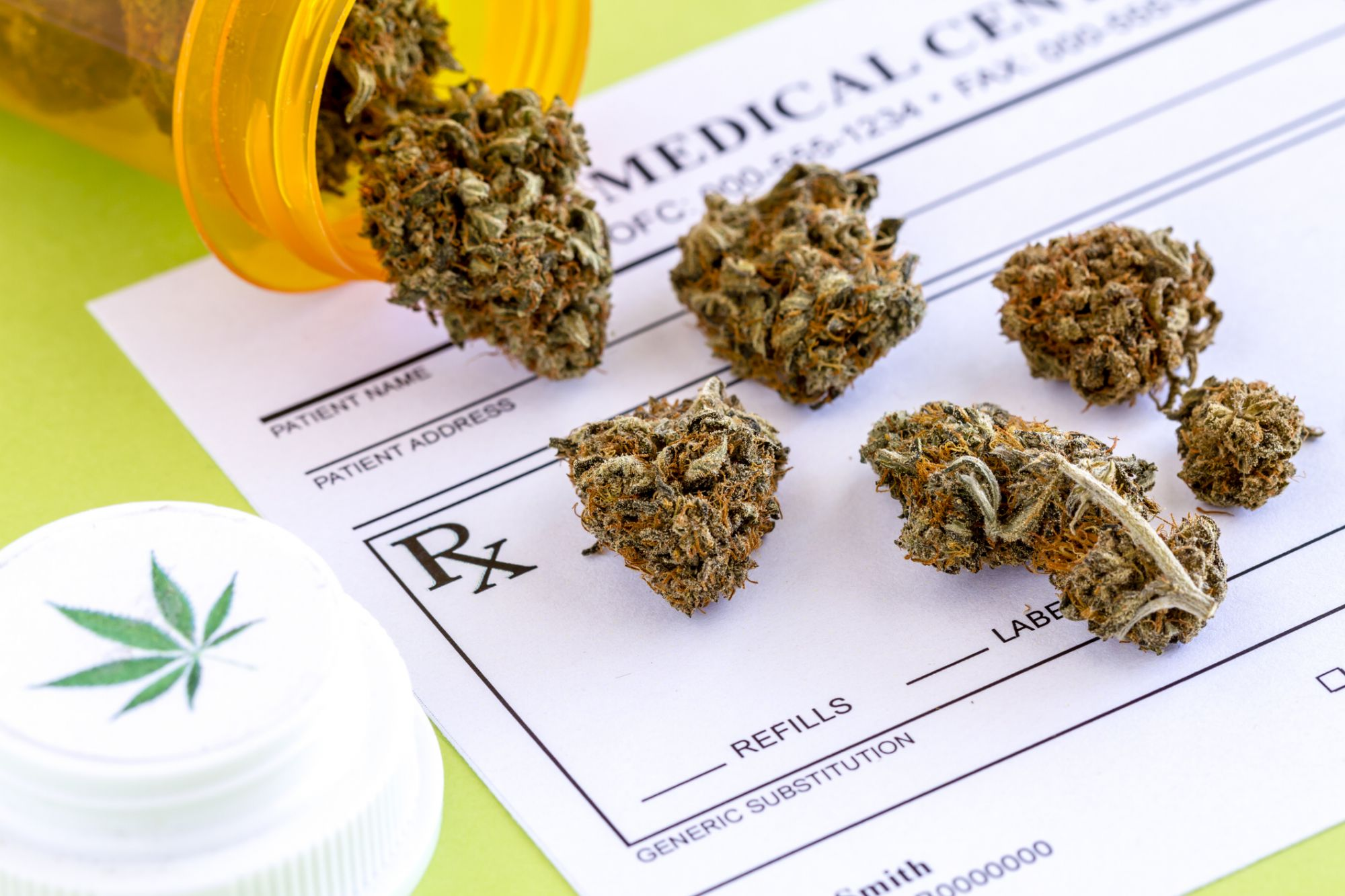 Colorado Joins New York and Illinois in Allowing Doctors to Prescribe Weed for Pain