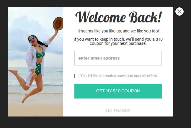 popup popup shopify