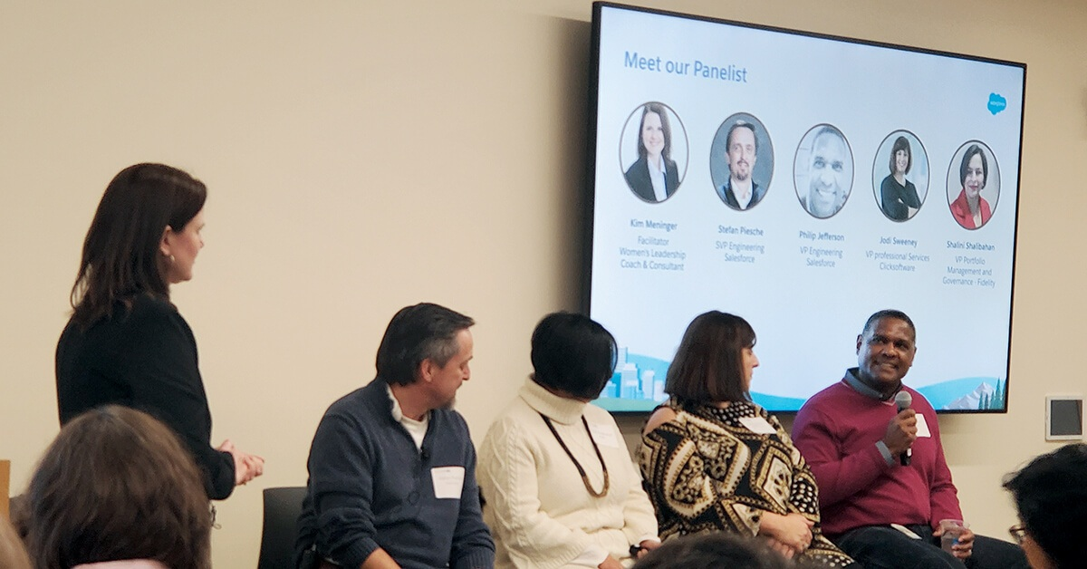 The Mass Technology Leadership Council's Professional Women's Community digs into careers, employee research groups, and having male allies in the workforce.