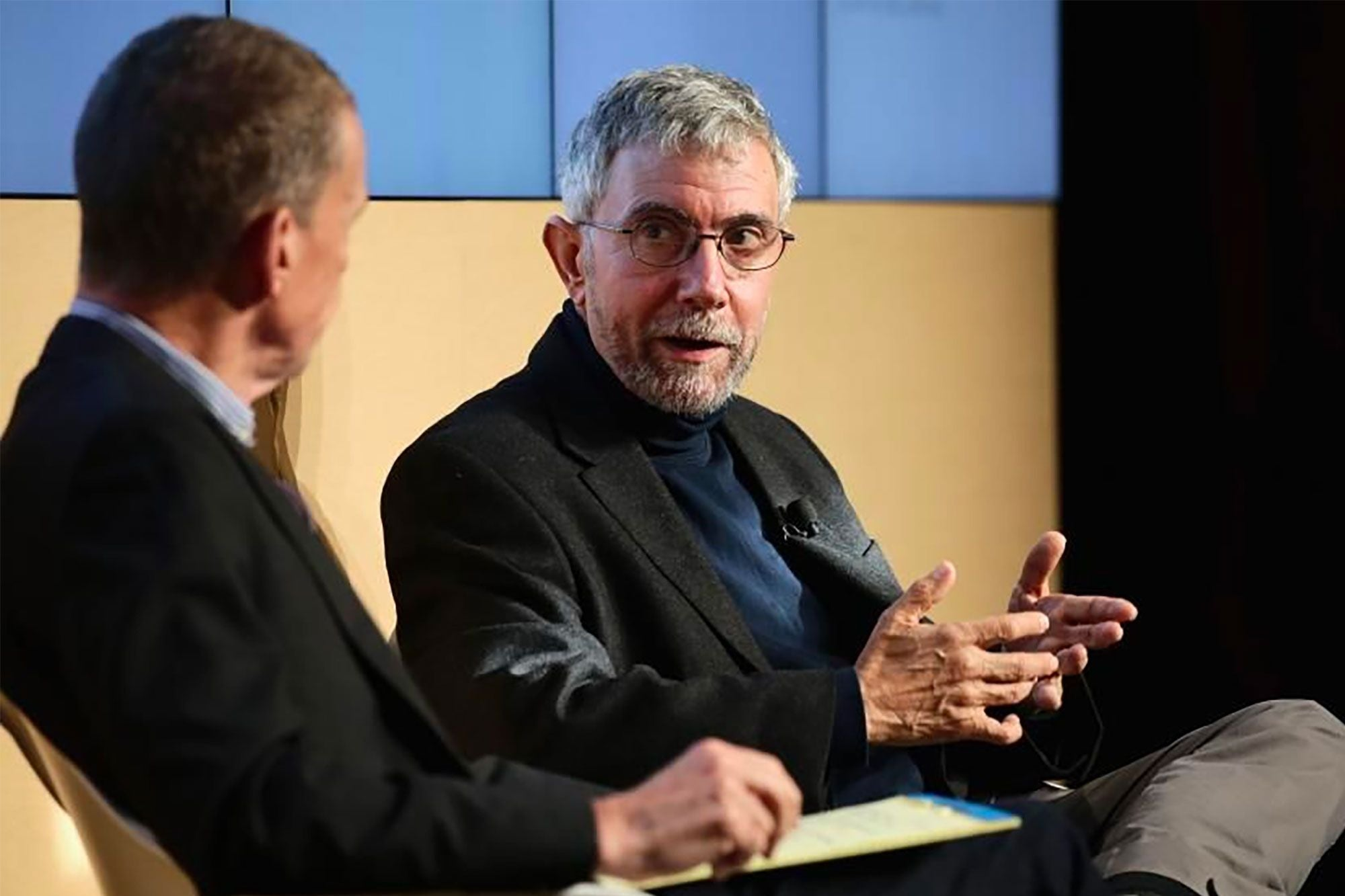 Paul Krugman Warns of Fiscal Time Bomb If Relief Is Insufficient