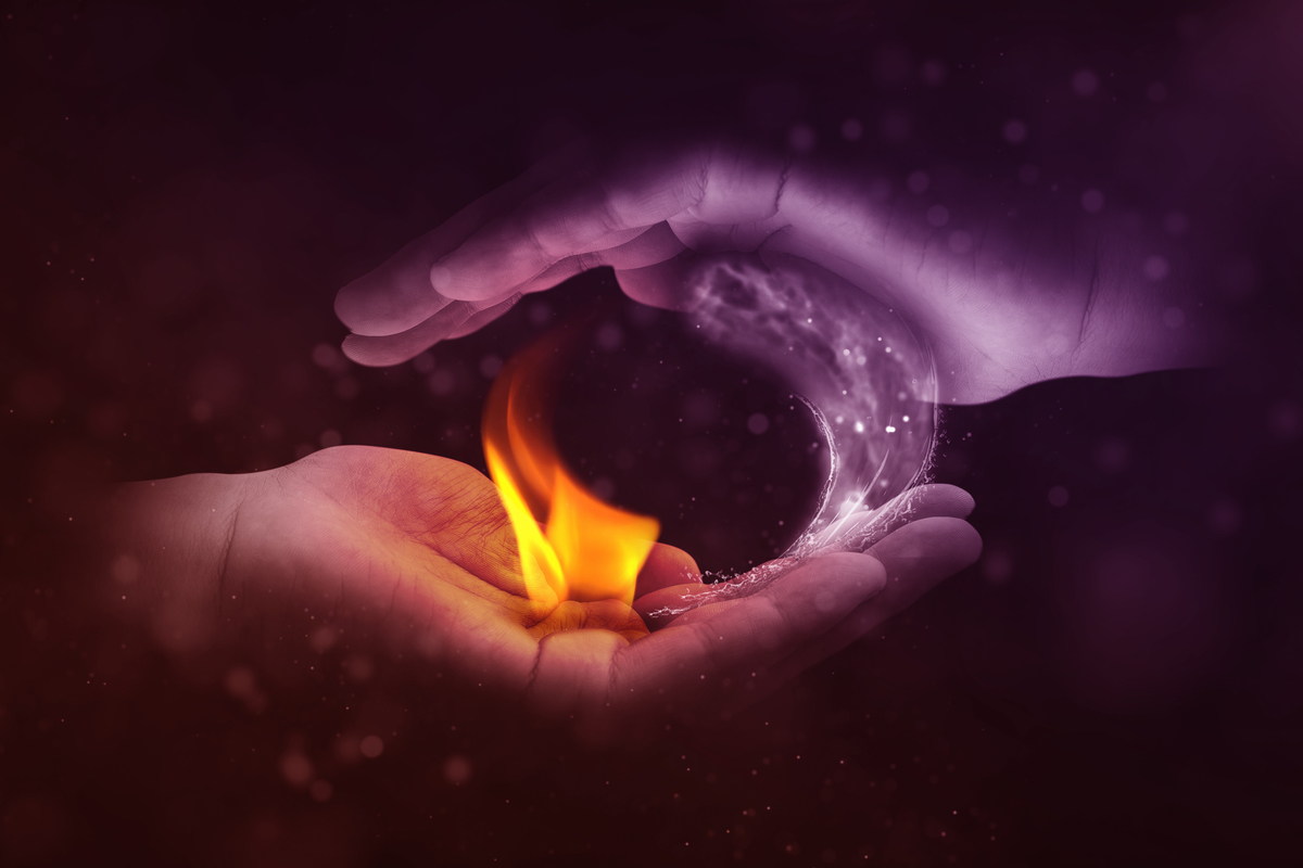 hot and cold flames water yin yang hands cupping fire by image by jonny lindner via pixabay