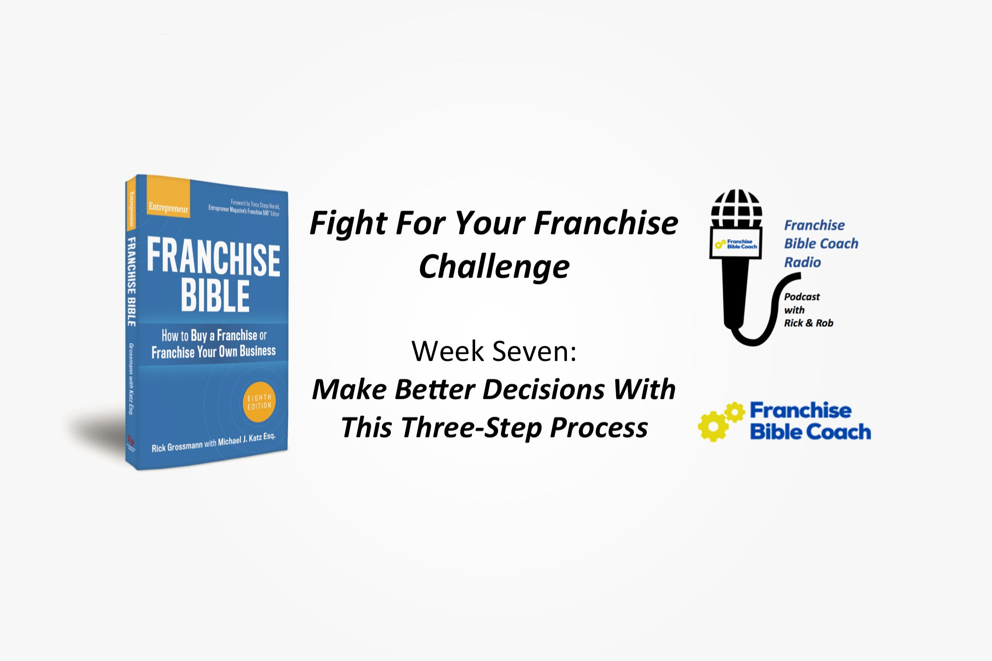 Fight for Your Franchise Challenge, Week 7: Make Better Decisions With the Three Decision Lens Strategy