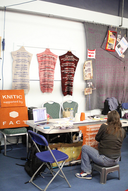 knitic - Makerfaire