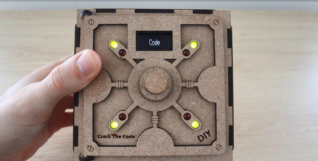 Safe Puzzle Box 1 - Electrogeek