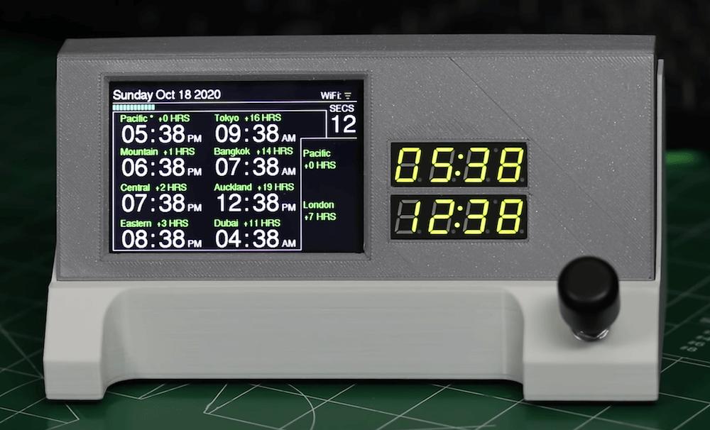 Clock - Electrogeek