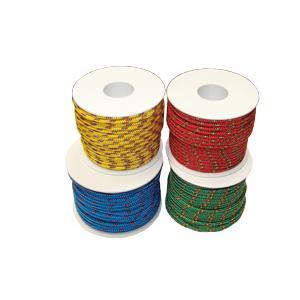 Rollo de cordón náutico Rojo Alta Tenacidad 4 mm
