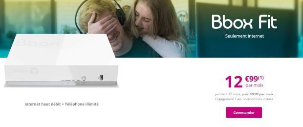 box internet sans tv les offres a