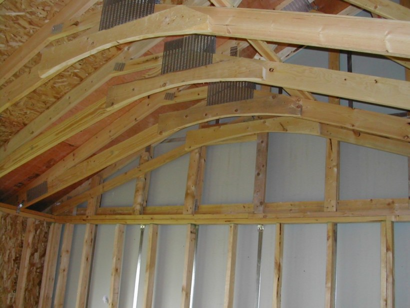 Vaulted ceiling truss design for Vaulted ceiling trusses