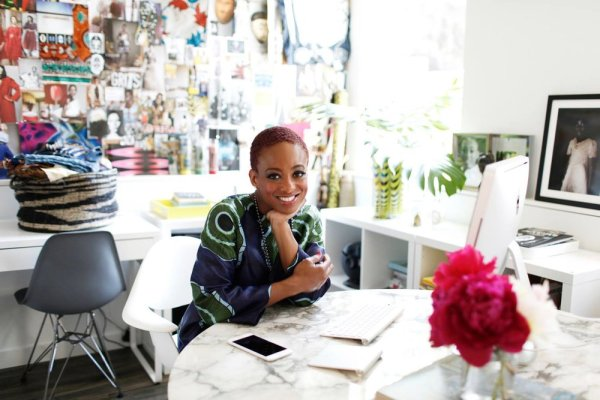 The Oula Company owner and designer Erika Massaquoi chats about her life, her style, and the inspiration behind The Oula Company brand.