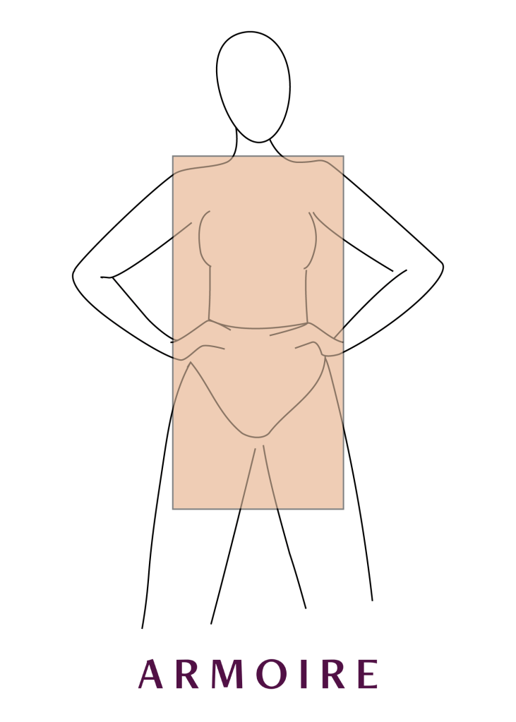 how to dress a rectangle shape
