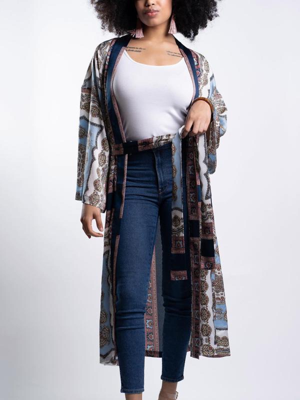 Love My Reality - Kimono Inspired Duster