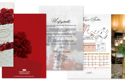Crowne Plaza Wedding Brochure