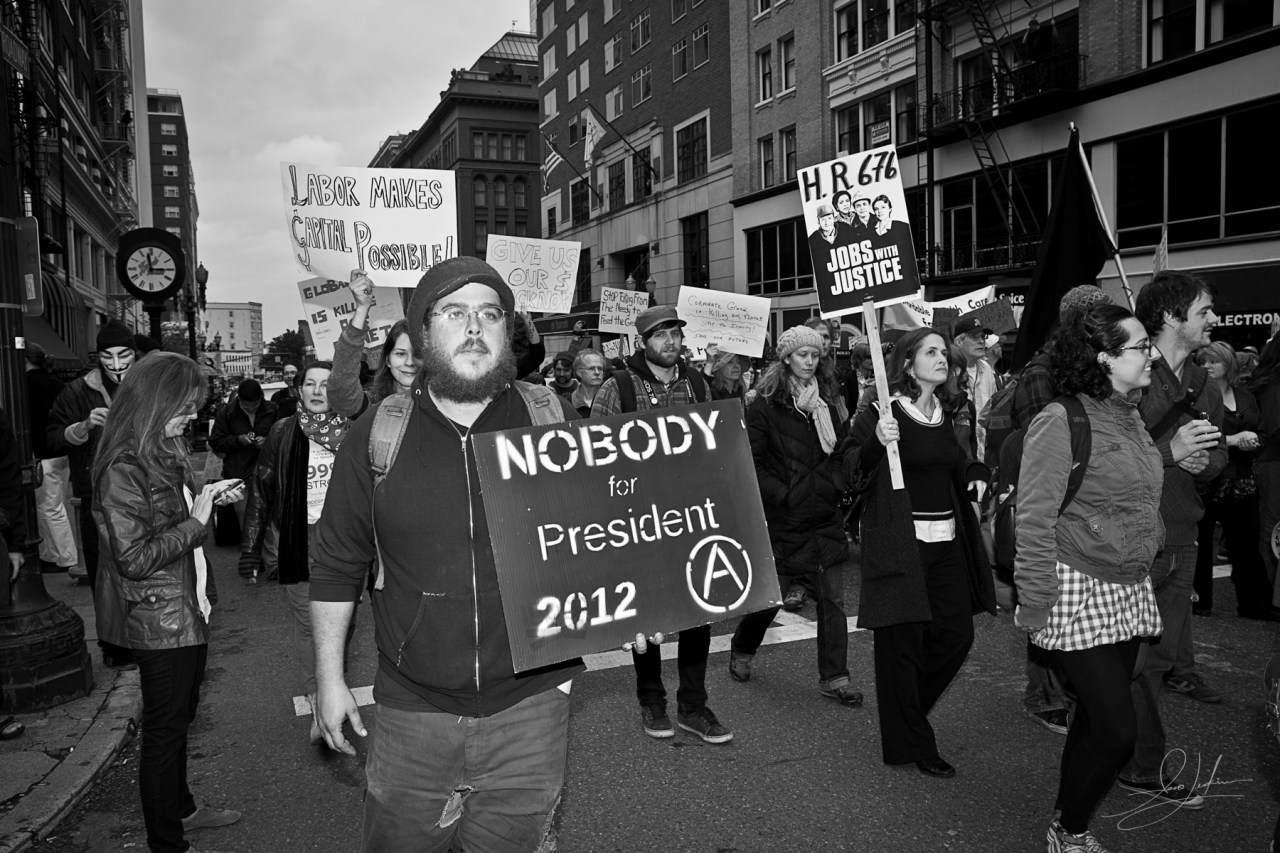 Occupy Portland Protest March 5