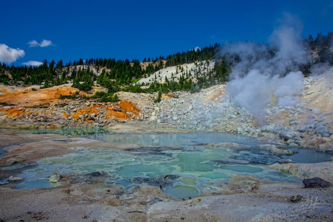 Lassen Volcanic National Park Fog