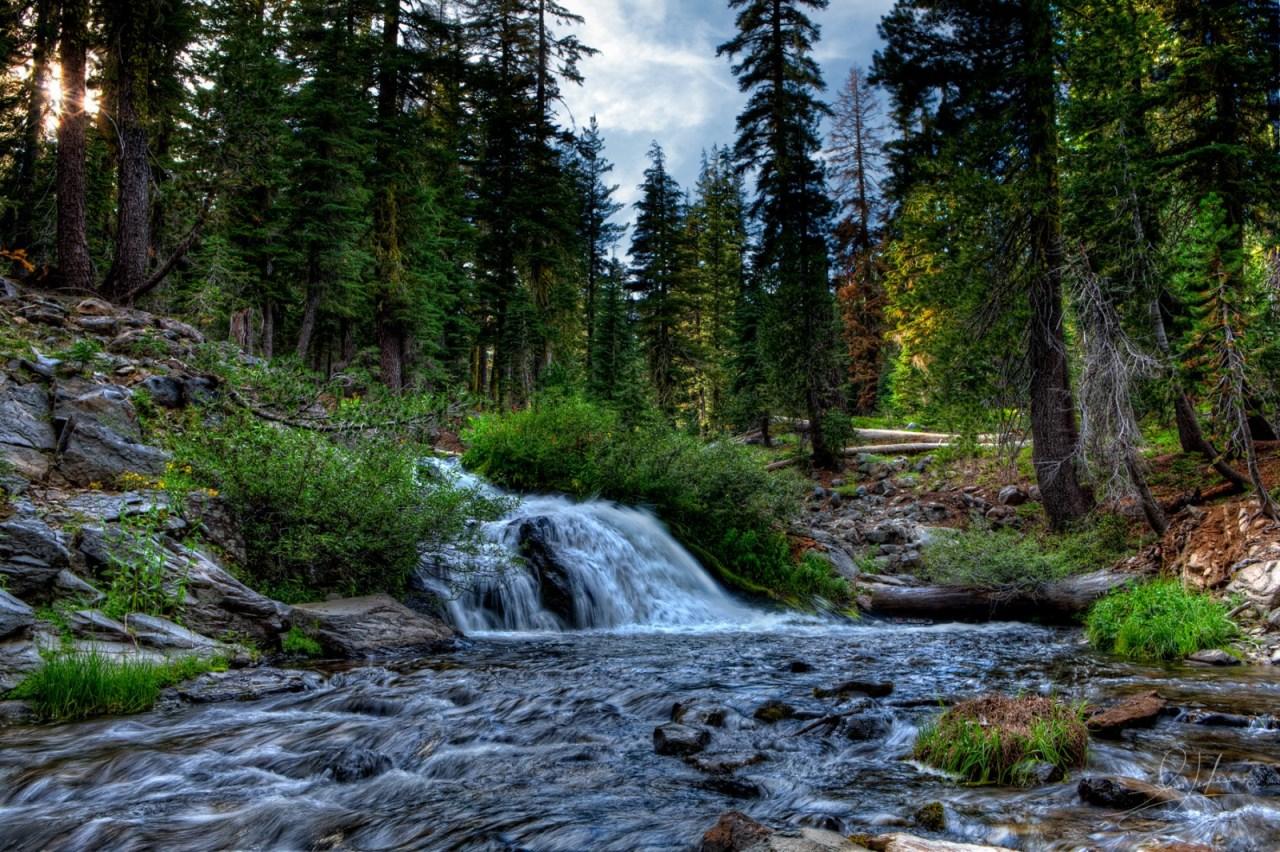 Lassen Volcanic National Park Waterfall