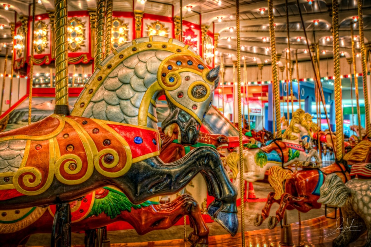 Jantzen Beach Carousel 2
