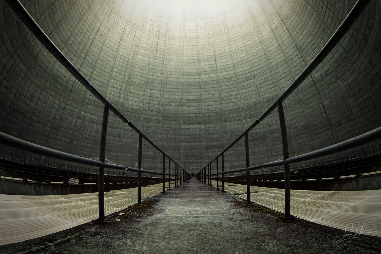 Satsop Nuclear Facility Inside Tower