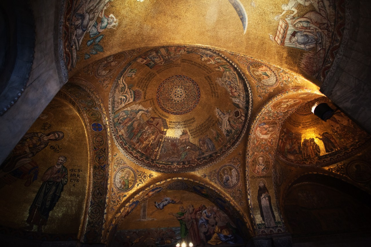 Inside St. Marks Basilica