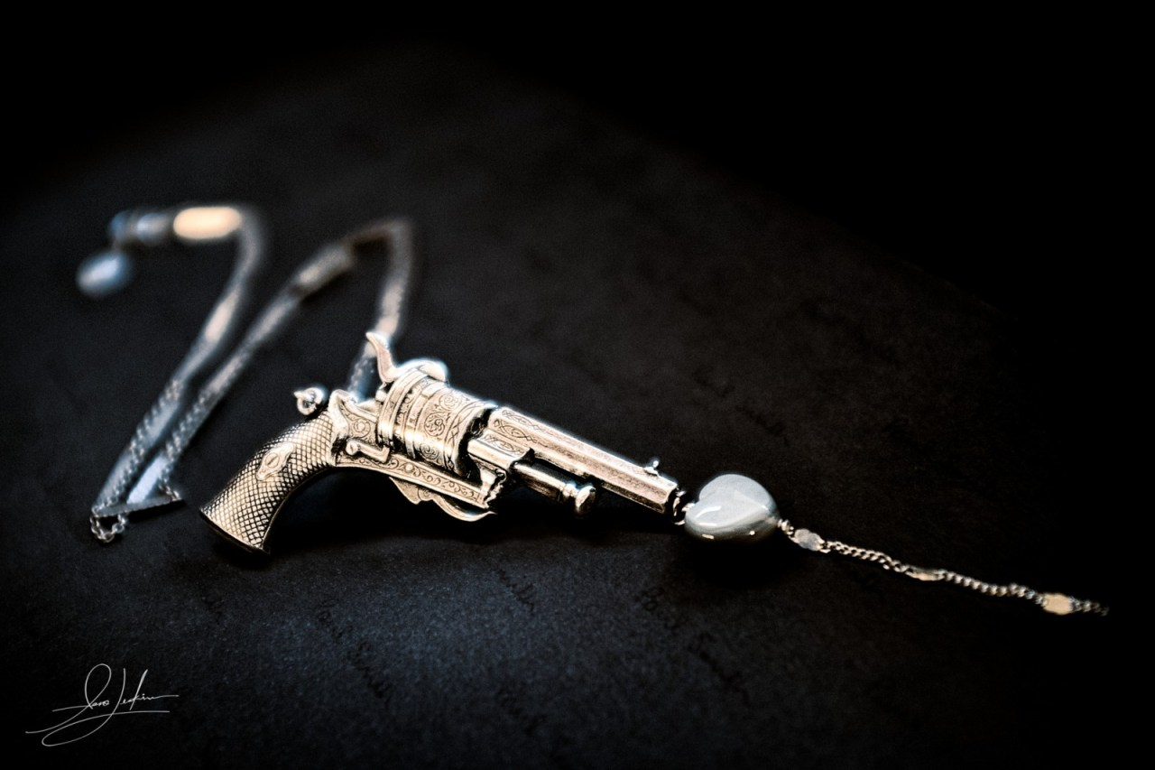 Lotta-Djossou-Gun-Necklace