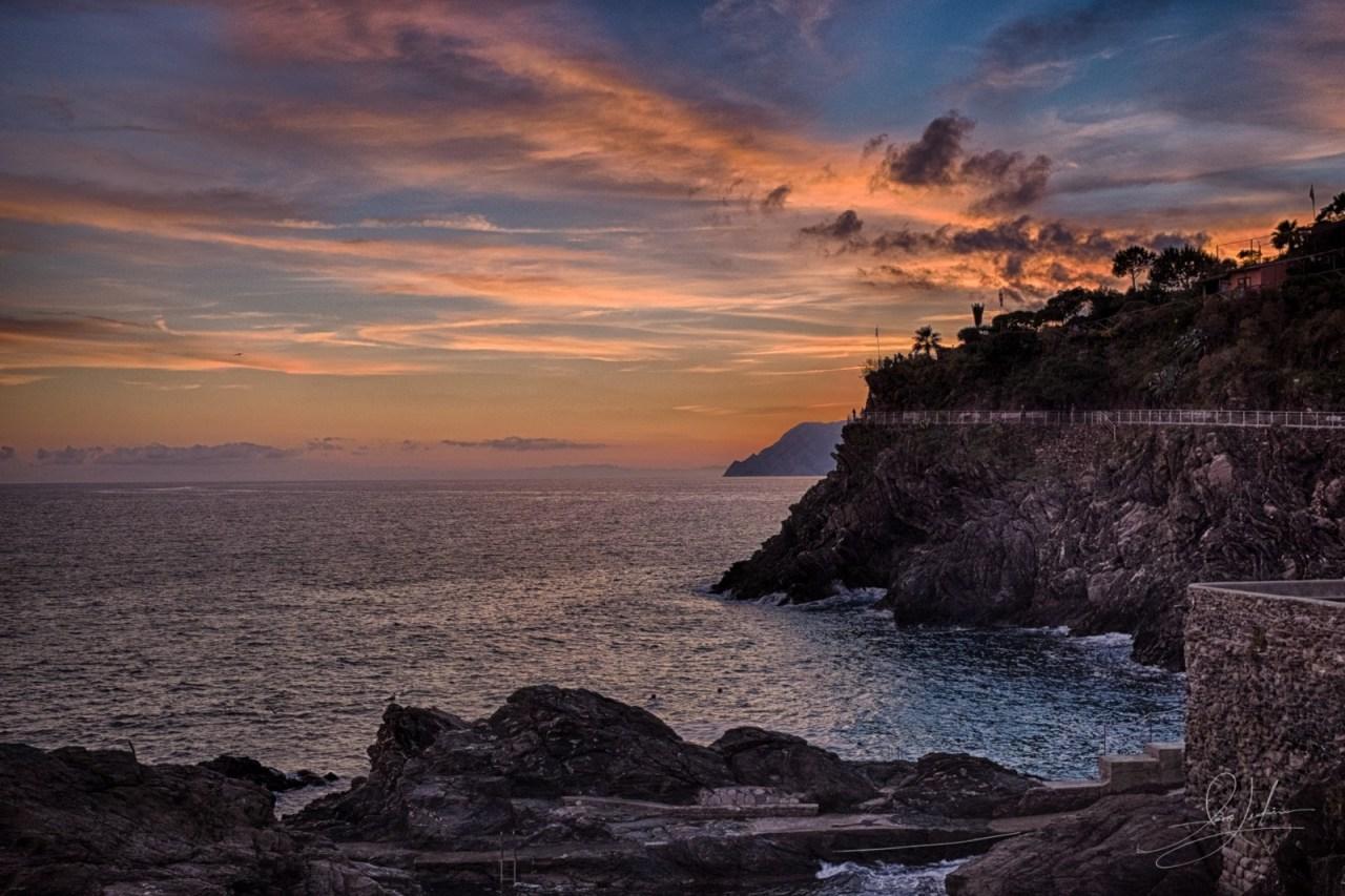 Sunset-Manarola