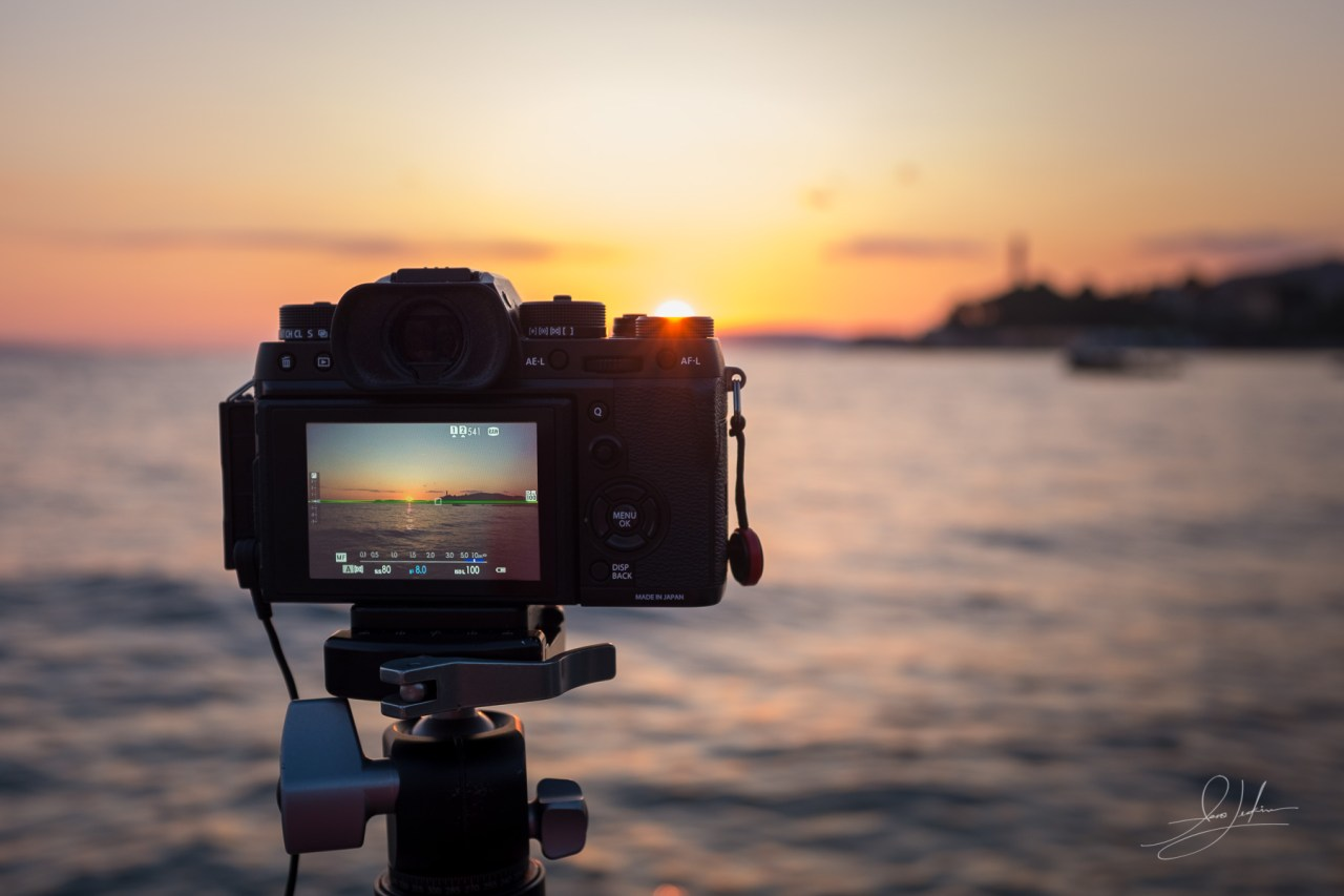 Photographing The Sunset In Split With The Fujifilm X-T2