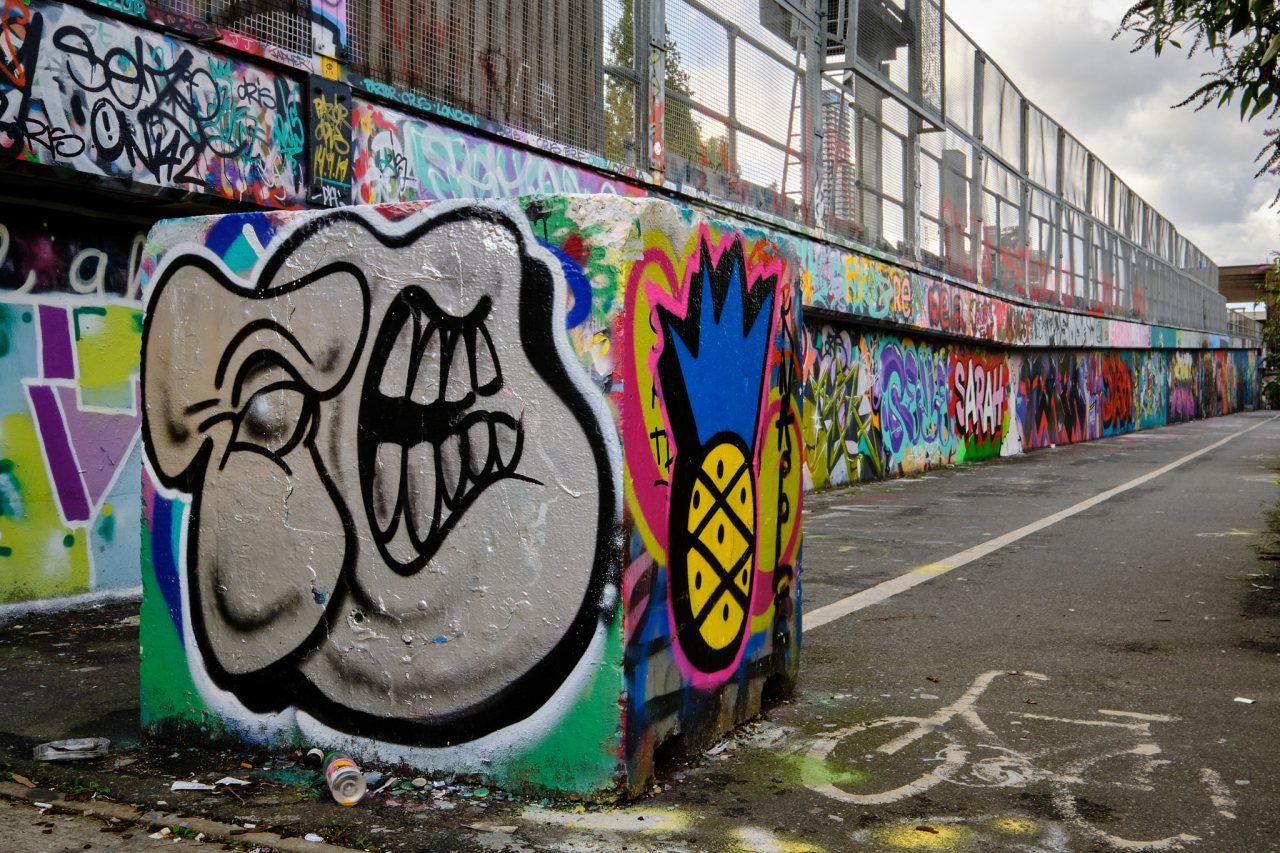 Colorful Graffiti - Shoreditch, London