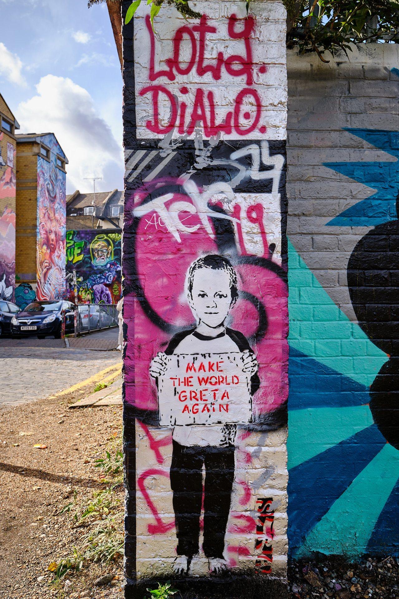 Make The World Greta Again - Shoreditch, London