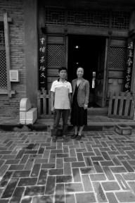 Wei with Pu'er Master Wang in Yunnan