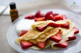 Strawberry Lemon Crepes