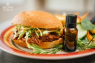 Honey Balsamic Pulled Pork Sandwiches